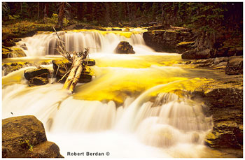 Nigel creek photographed with a Blue-Yellow Polarizer by Robert Berdan ©