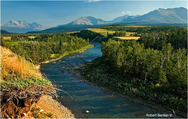 Belly river in sourthern Alberta by Robert Berdan ©