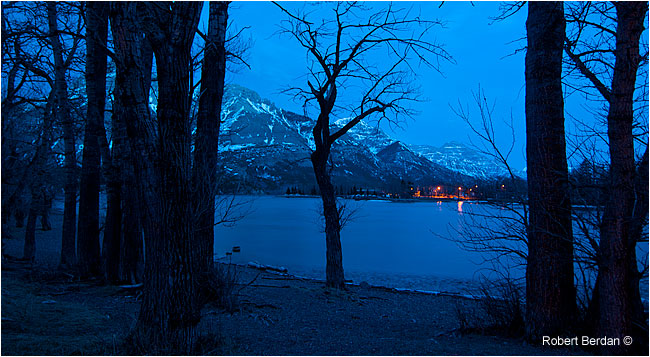 Waterton early morning by Robert Berdan ©