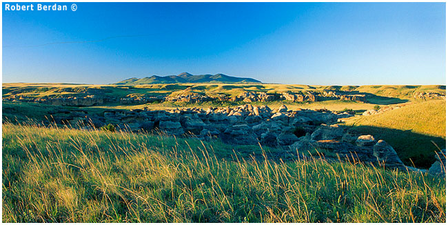 Grasslands at Writing-on-Stone provincial park by Robert Berdan ©