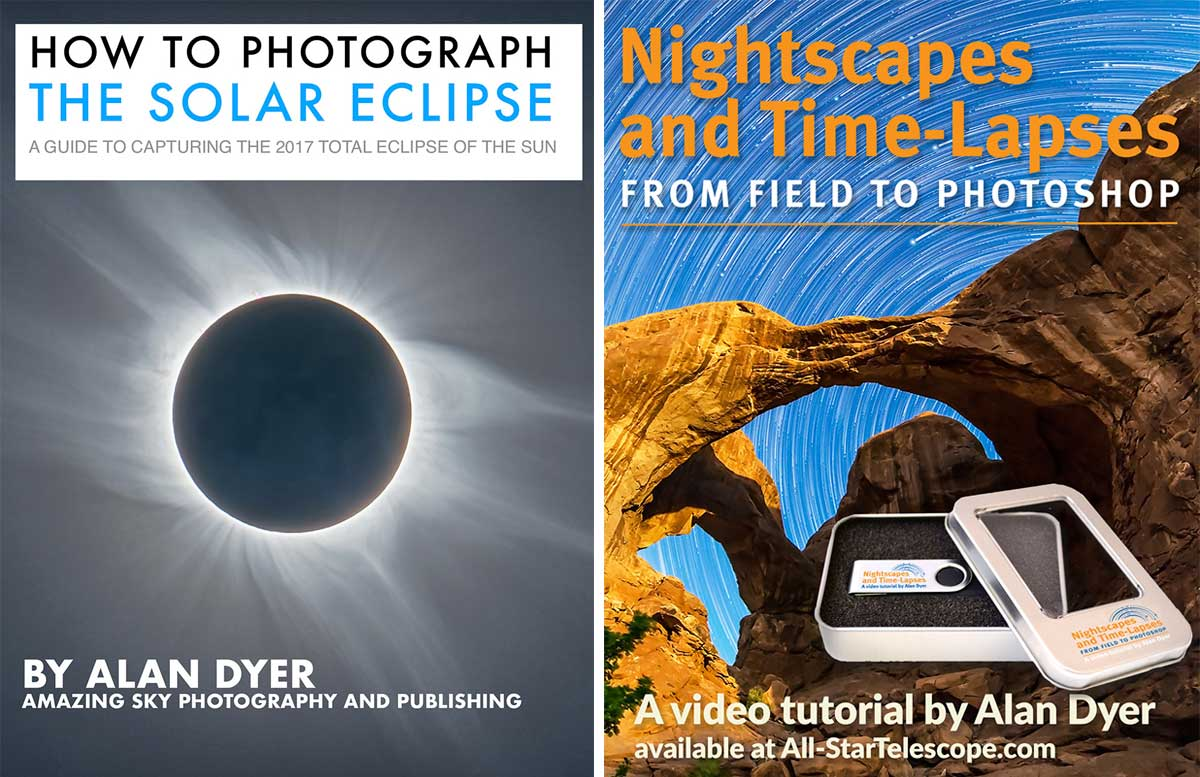 Eclipse Ebook and Video course by Alan Dyer ©