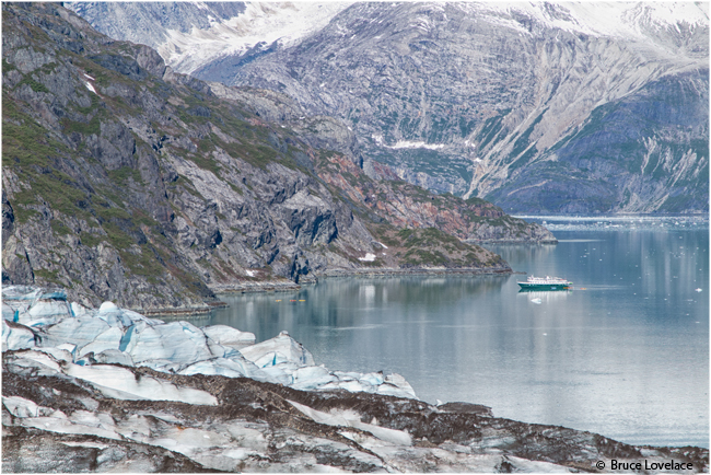 Wilderness explorer from lamplugh glacier by Bruce Lovelace ©