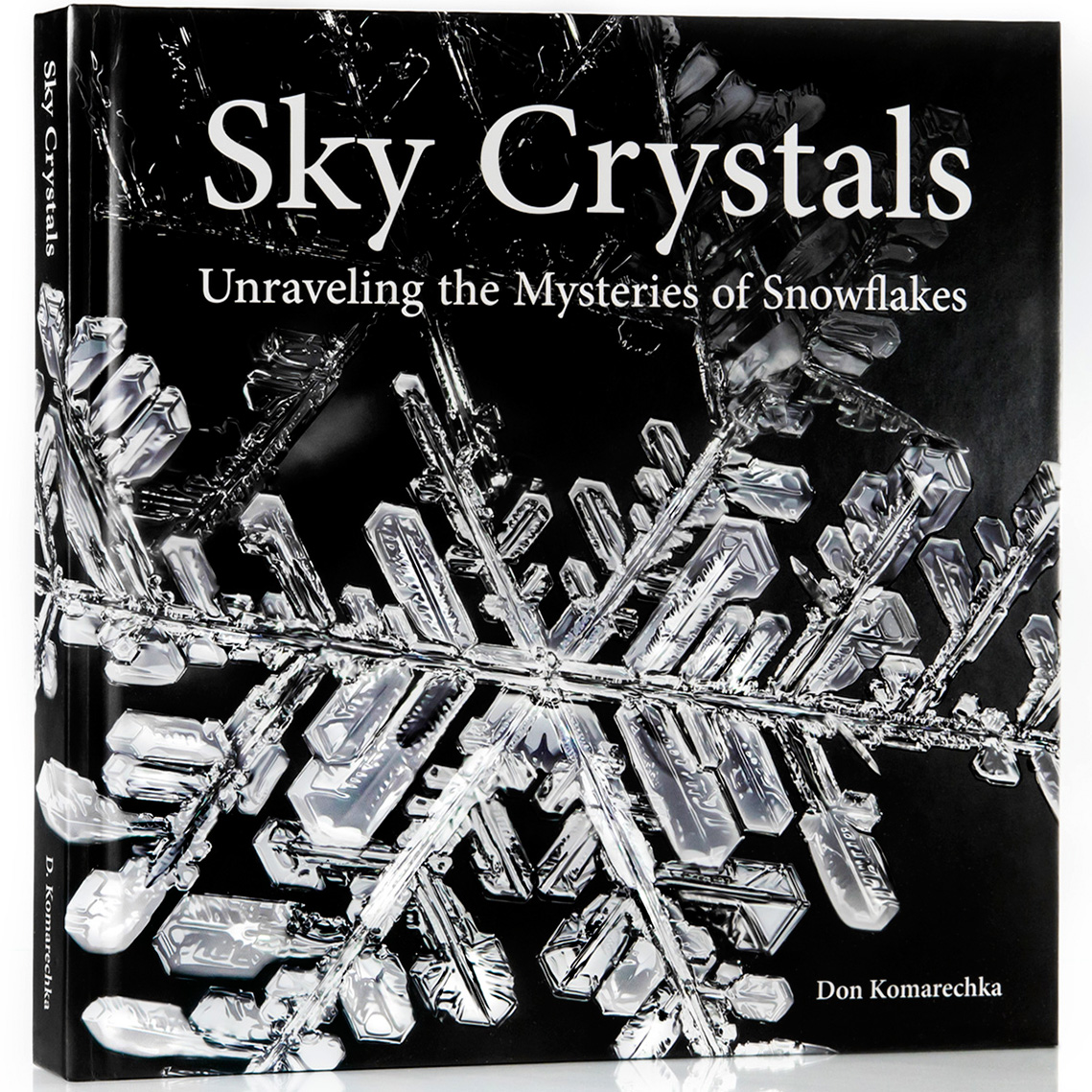 Sky Crystals book cover by Don Komarechka ©