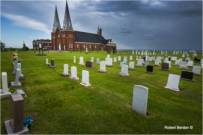 Our lady of Mont Carmel Church PEI by Robert Berdan ©