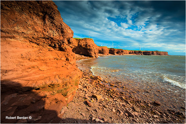 Northcape Prince Edward Island by Robert Berdan ©