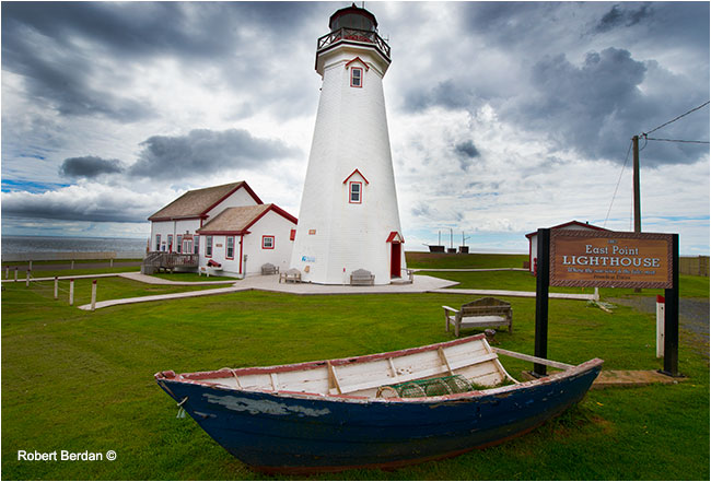East Coast Lighthouse PEI by Robert Berdan ©