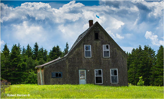 Abandoned house PEI by Robert Berdan ©