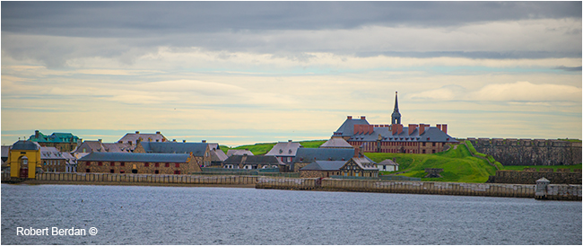 Louisbourg National Historic Site of Canada - Cape Breton Island by Robert Berdan ©
