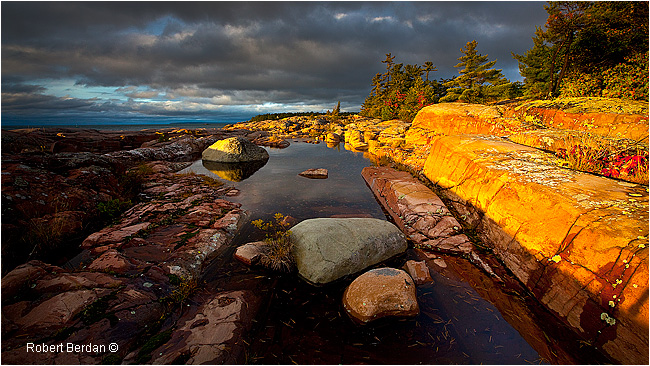 Killarney Provincial Park - sunrise by Robert Berdan