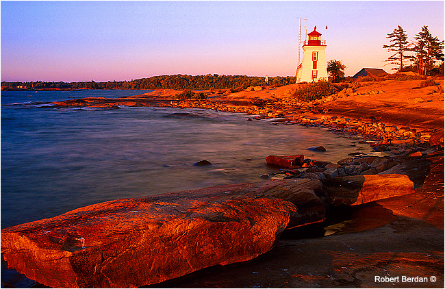 Brebeuf Lighthouse by Robert Berdan ©