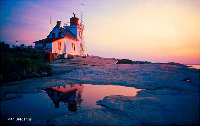 Brebeuf Lighthouse by Karl Berdan ©