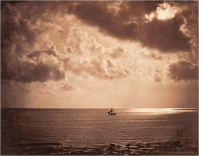 Big upon the Water Albumin print by Gustave LeGray