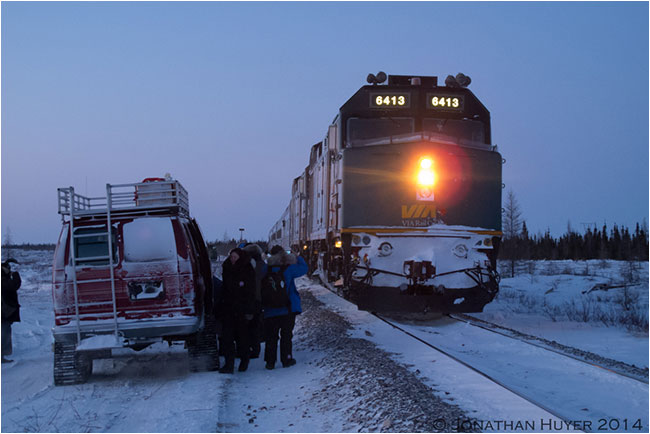 Train from Churchill by Jon Huyer ©