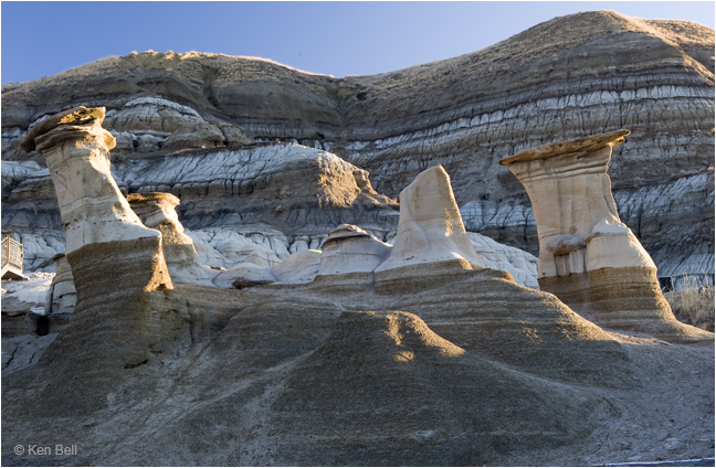 Hoodoos in Drumheller by Ken Bell ©