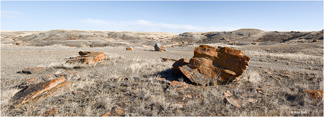 View of Red Rock Coulee by Ken Bell ©