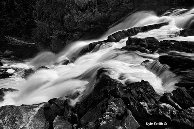 Waterfall Algonguin Park Ontario by Kyle Smith ©