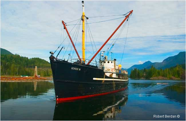MV Uchuck III from Gold River, BC by Robert Berdan ©