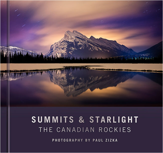 Book cover Summits & Satrlight The Canadian Rocikes by Paul Zizka ©