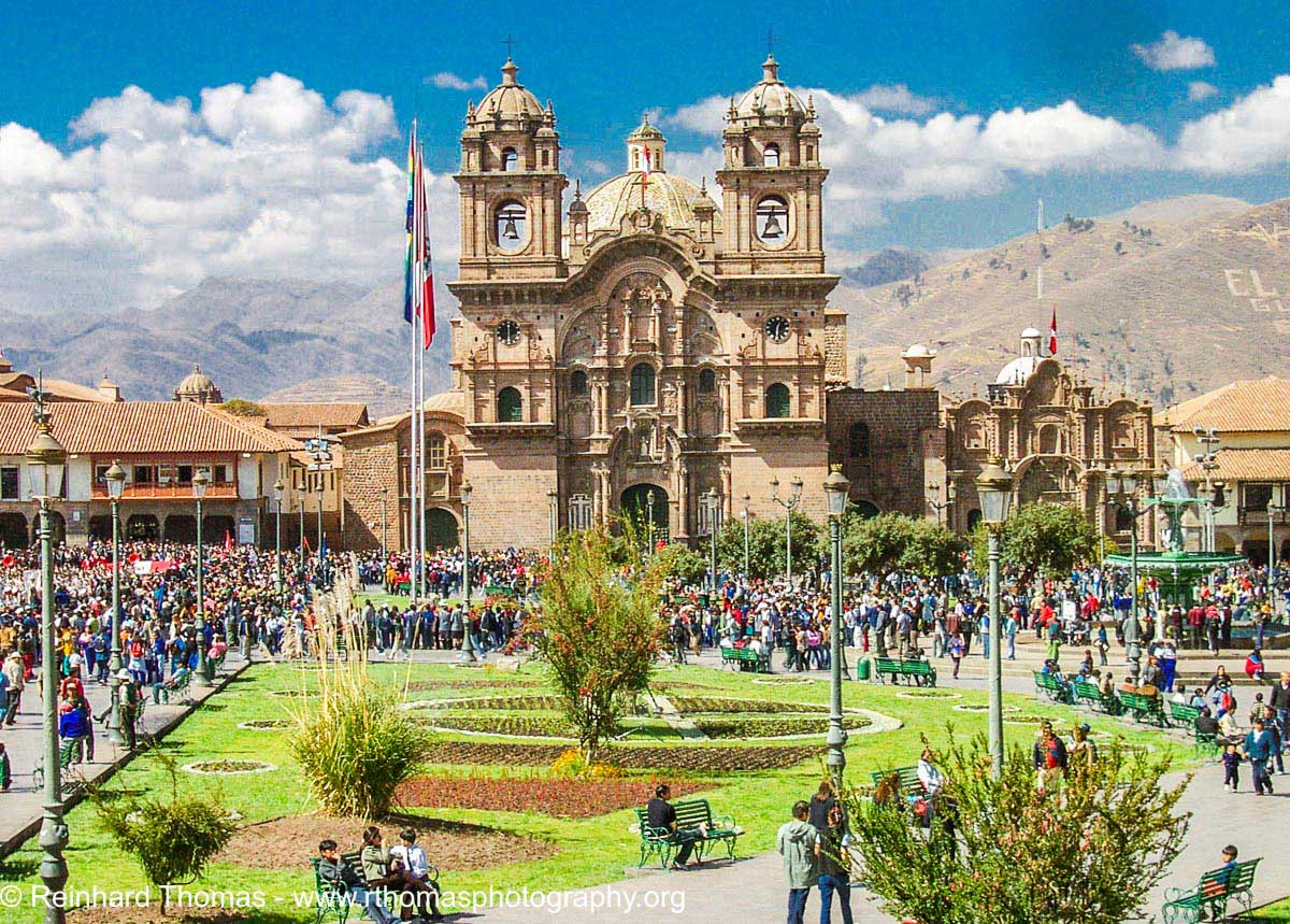 Cuzco, the Jesuit Church of the Campania by Reinhard Thomas ©
