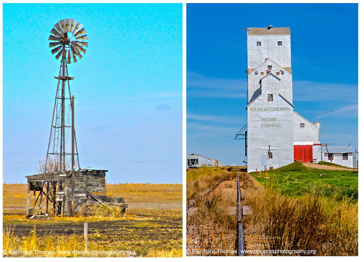 Water pump and grain elevator by Reinhard Thomas ©