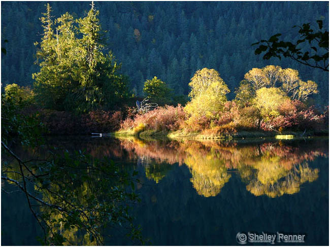 Cameron Spit reflected by Shelley Penner ©