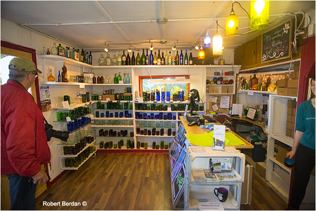 Old Town Glassworks store Yellowknife by Robert Berdan ©