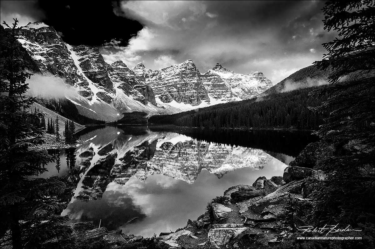 Black And White Photography Banff