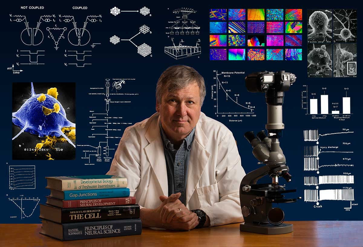 Dr. Robert Berdan Cell Biologist & Photographer, Calgary, AB photo by Sharif Galal