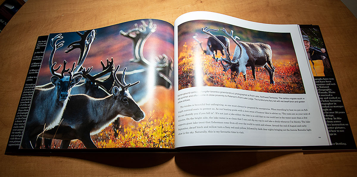 The Art of Canadian Nature Photography - Hard cover book by Robert Berdan ©