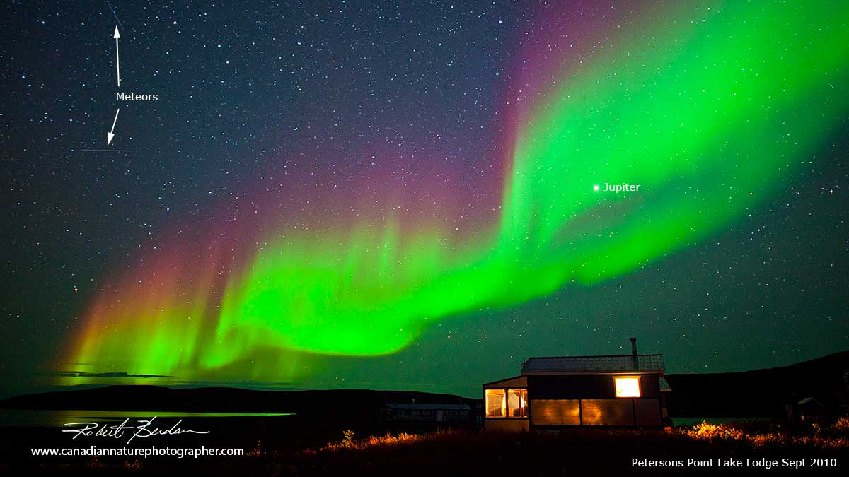 Aurora over Tundra by Robert Berdan ©