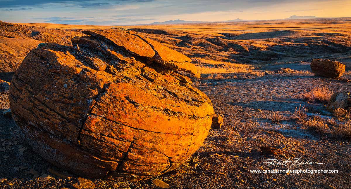 Red Rock Coulee in South East Alberta by Robert Berdan ©