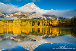 Wedge Pond Kananaskis in Autumn by Robert Berdan ©