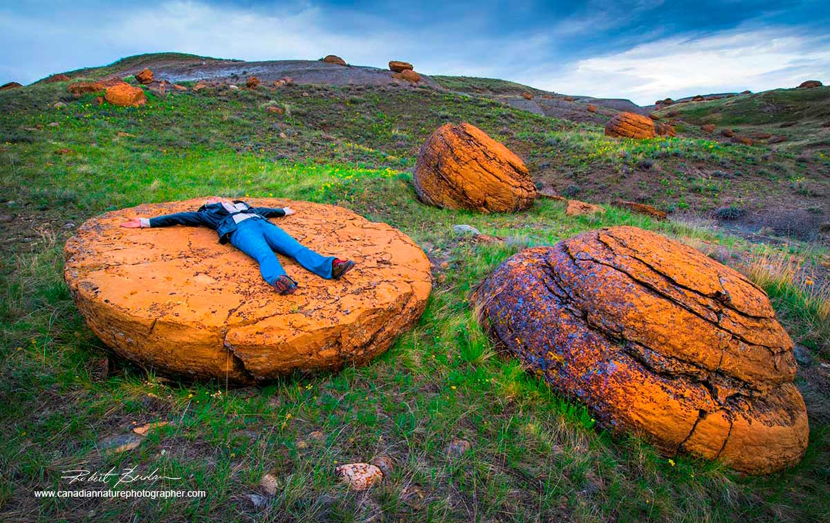 Concretions Red Rock Coulee by Robert Berdan ©