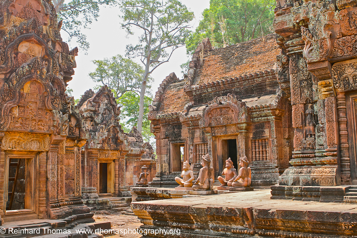 Inside Banteay Srei Temple  by Reinhard Thomas ©
