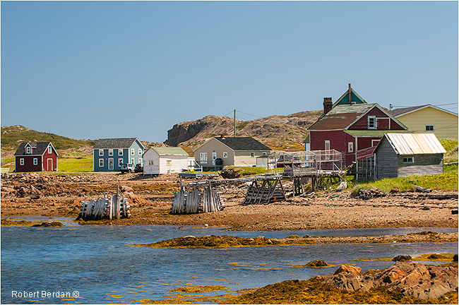 French beach near Twillingate by Robert Berdan ©