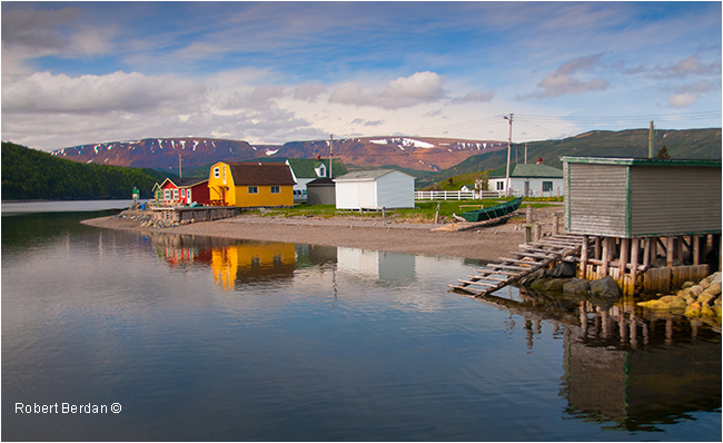 Norris Point Newfoundland by Robert Berdan ©