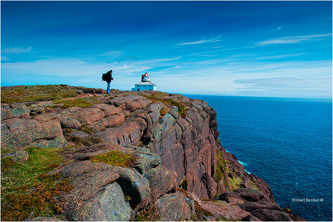 Cape Spear Lighthouse Newfoundland by Robert Berdan ©