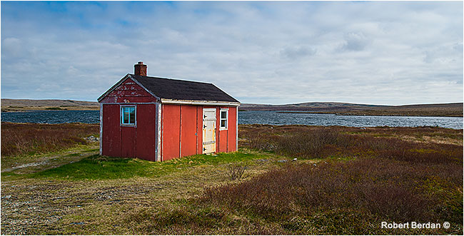 One room cabin Newfoundland by Robert Berdan ©