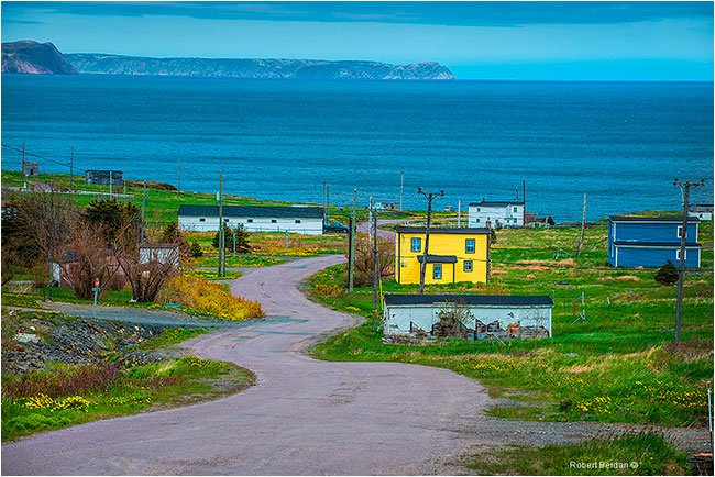 Perry's Cove Newfoundland by Robert Berdan ©