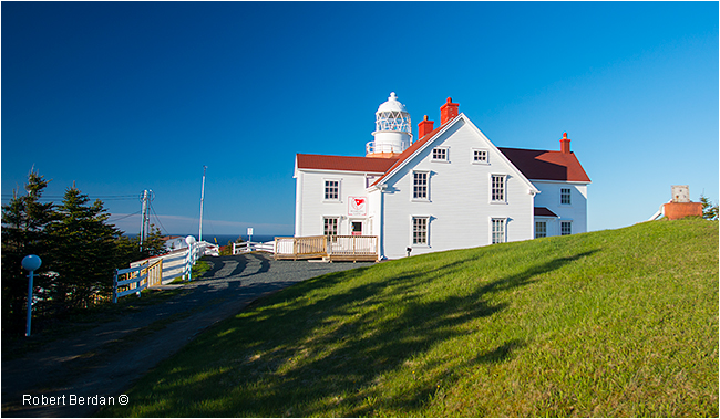 Long point lighthouse in Twillingate by Robert Berdan ©