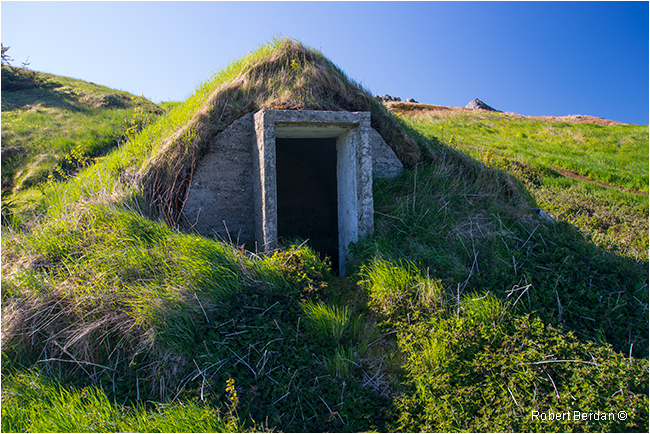 Root cellar Twillingate by Robert Berdan ©