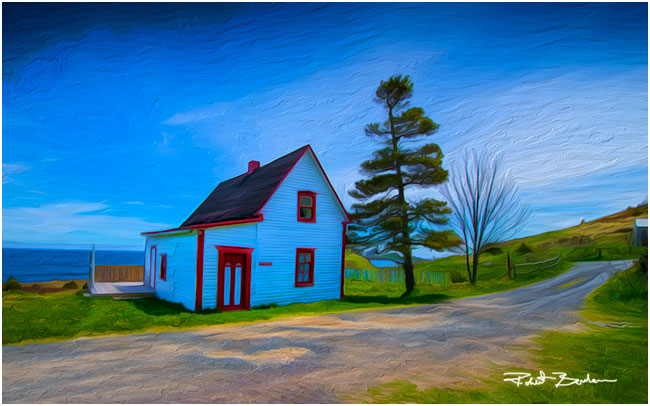 The Cribbies in Tors Cove by Robert Berdan ©