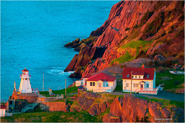 Fort Amherst St. John's harbour by Robert Berdan ©