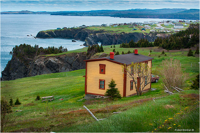 Jobs Cove Newfoundland by Robert Berdan ©