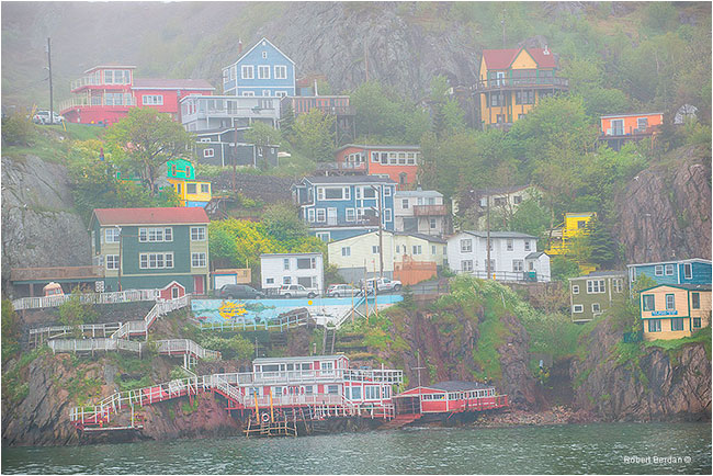 Buildings in St. John's Newfoundland by Robert Berdan ©