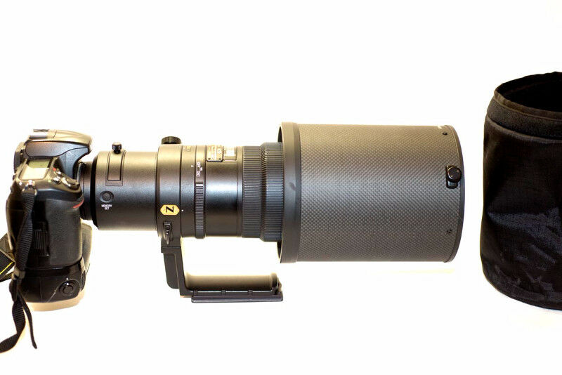 Nikon 500 mm F4 lens for sale by Robert Berdan