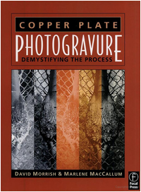 Photogravure book cover