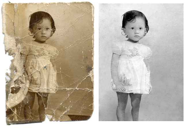 Photo restoration by Robert Berdan ©