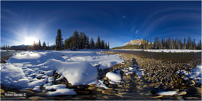 Castle Junction panorama by Robert Berdan ©