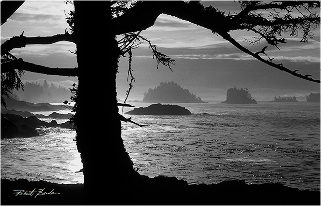 Sunrise at Amphrite point near Ucluelet by Robert Berdan ©